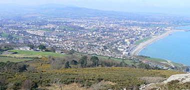 Vista de Bray desde Bray's Head.