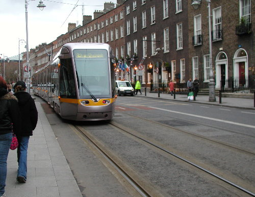 Luas - Tranvía de Dublín
